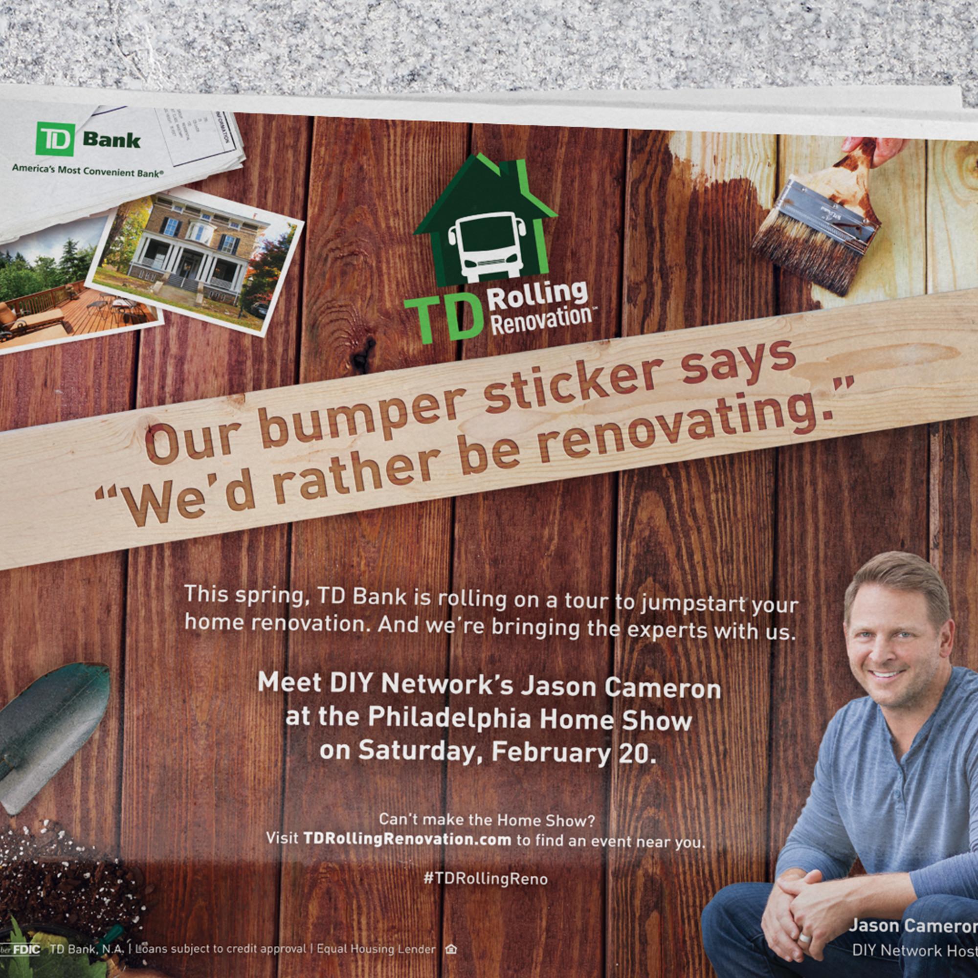 TD Bank - Rolling Renovation portfolio item 2