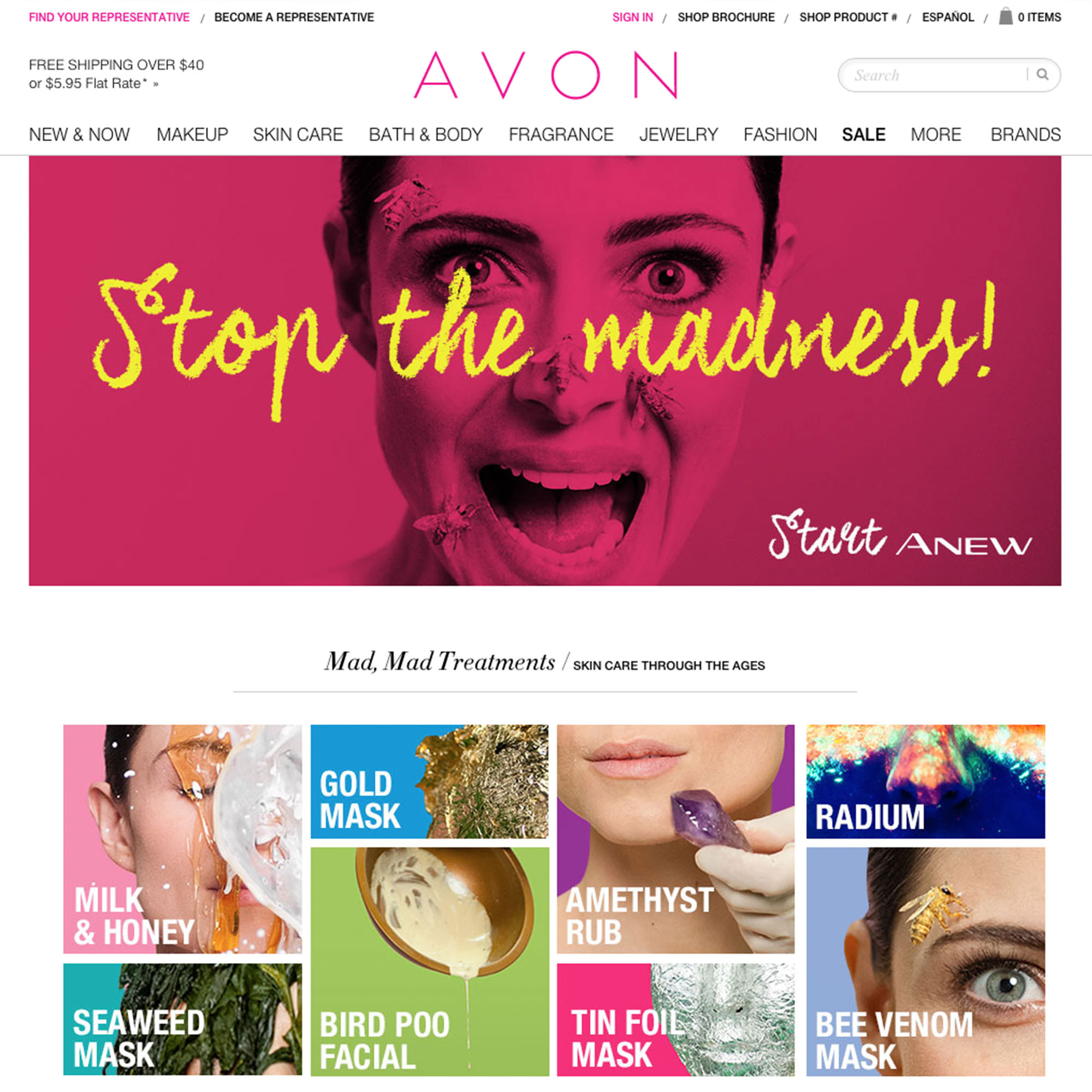 Avon - Stop the Madness portfolio item 1