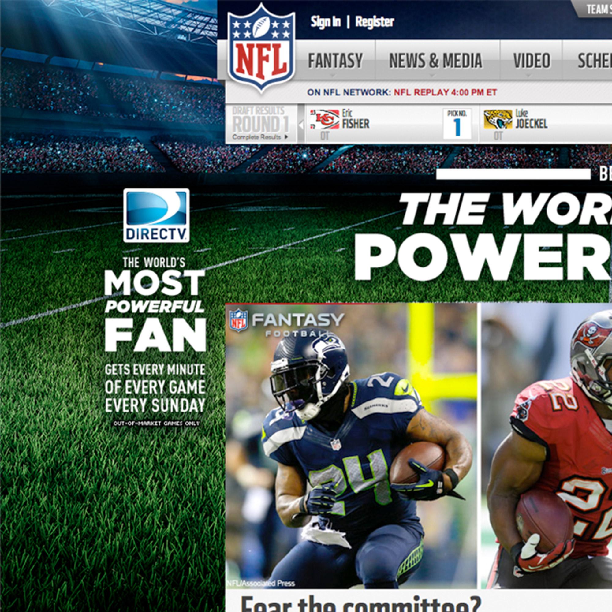 DIRECTV - NFL Sunday Ticket portfolio item 3