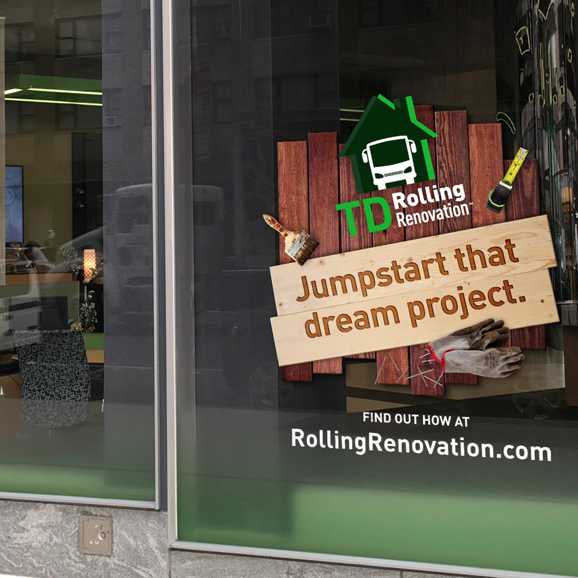 TD Bank - Rolling Renovation portfolio item 3