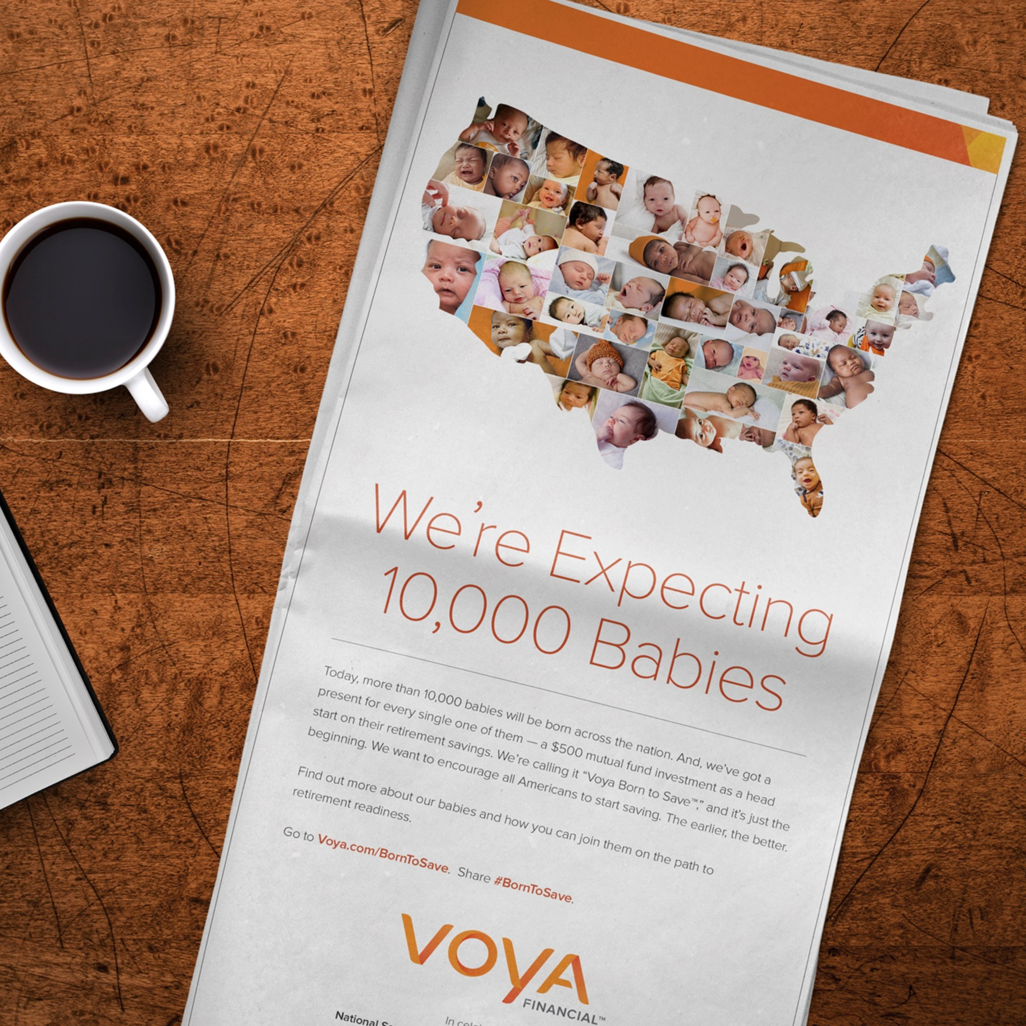 Voya - Born to Save portfolio item 1