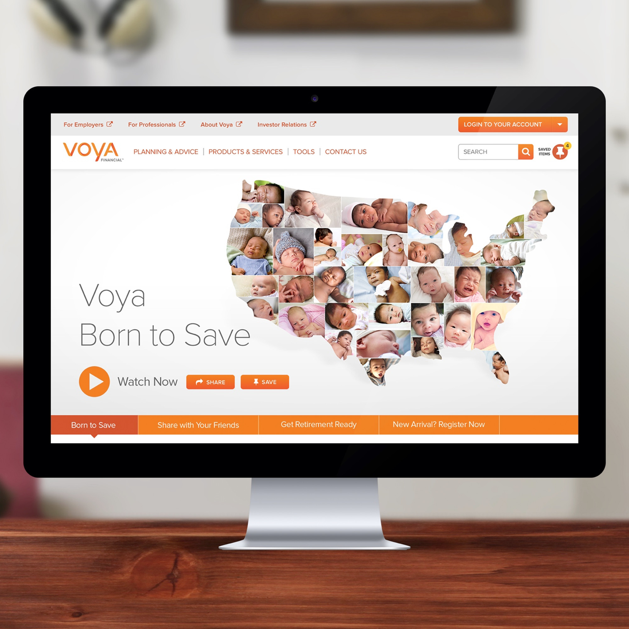 Voya - Born to Save portfolio item 2